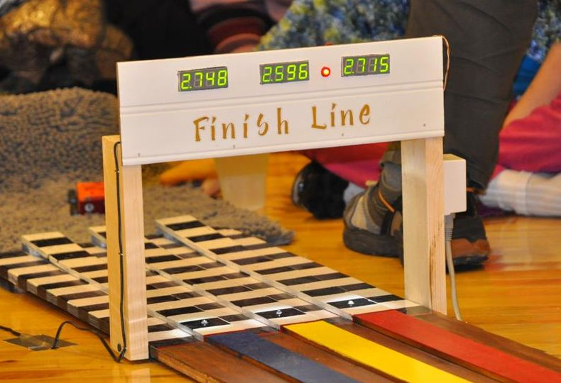 Arduino Pinewood Derby SLO MakerSpace